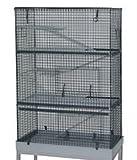 DAHAK INTERNATIONAL LTD Chinchilla-Käfig, Groß, Kaninchenstall, auch für Ratten & Frettchen geeignet, 3-stöckig