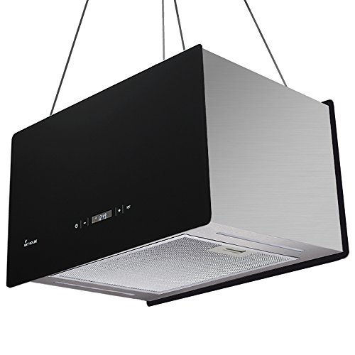 Dunstabzugshaube Inselhaube 60cm / extra leise / LED Beleuchtung / Touch Select / CUBE60S / KKT KOLBE
