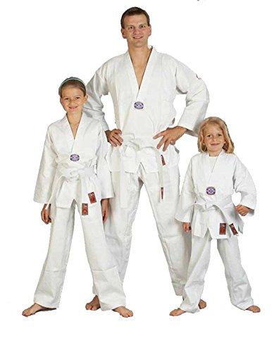 Taekwondo-Anzug 'to start' mit Weißgurt von JU-SPORTS, 9401, Gr. 160