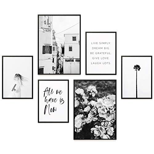 Heimlich Premium Poster Set | Stilvoller Mix an passenden Bildern für Dein Zuhause | ohne Rahmen » Coco Chanel «