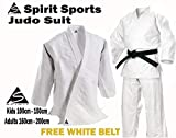 Spirit Sports Judo Training Uniform 550grm, 100% Baumwolle 180cm
