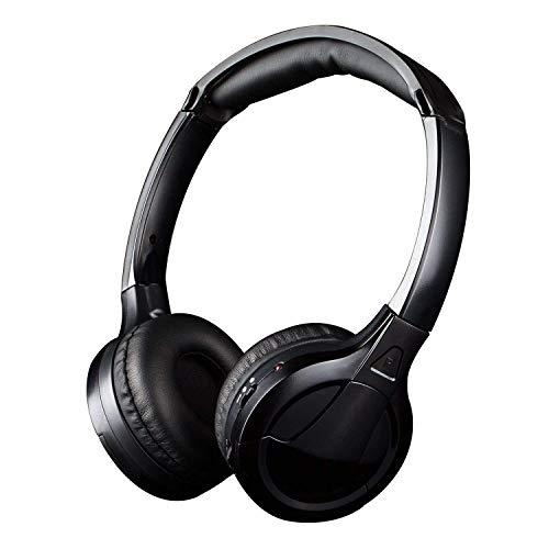 Kabelloser Kopfhörer [ Null Latenz], Jelly Comb Drahtloser HF-Stereo Over-Ear Kopfhörer/Funkkopfhörer/On-Ear Funkkopfhörer/TV-Kopfhörer, Schwarz