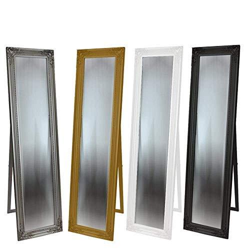 DRULINE Standspiegel Crown Barock 39,8 x 159,5 x 1,5 cm Gold ohne Krone
