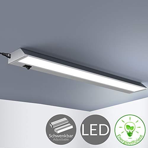 Monzana Unterbauleuchte schwenkbar 10 Watt LED Schrankleuchte L 58cm Lichtleiste Deckenleuchte Einbauleuchte