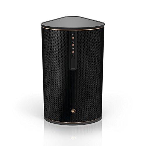 Hama WLAN-Multiroom-Lautsprecher für Internetradio und kabelloses Musik-Streaming IR80MBT (Bluetooth, Spotify Connect, 30W RMS, WLAN-Radio, Fernbedienung, gratis UNDOK App-Steuerung) Musik-Box schwarz