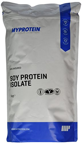 Myprotein Soy Protein Isolate Unflavoured, 1er Pack (1 x 1 kg)