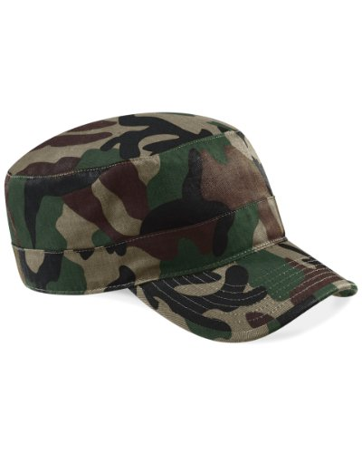 Beechfield Camouflage Army Cap, Jungle one size,Jungle