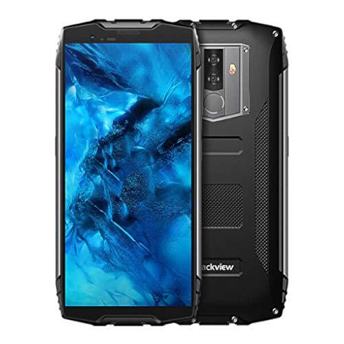 Blackview BV6800 Pro - 5,7 Zoll FHD + (18:9 Verhältnis) Militär Standard-Smartphone, 6580mAh BAK-Batterie (30 Tage Standby, schnelle Ladung), IP68 Wasserdicht/Stoßfest,Achtkern 4GB + 64GB-Schwarz