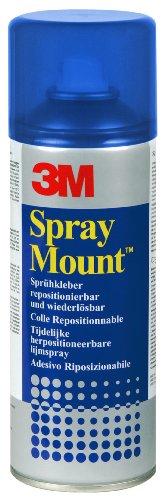 SprayMount - Sprühkleber mit mittelstarker Haftkraft, im feuchten Zustand repositionierbar, 400 ml