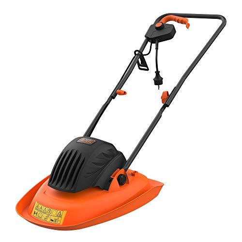 Black + Decker BEMWH551-QS Rasenmäher auf Luftkissen, 30 cm-1200 W-Garten 250 m² – ideal für Terrain in Schrägen oder Beschädigungen (5,6 kg)