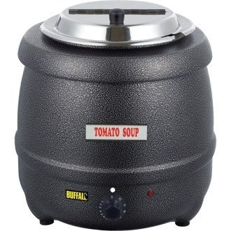 Buffalo-Suppentopf - 10 Liter, Grau