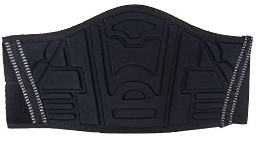 Motorrad Nierengurt mit breitem Klettverschluss schwarz S - 5XL