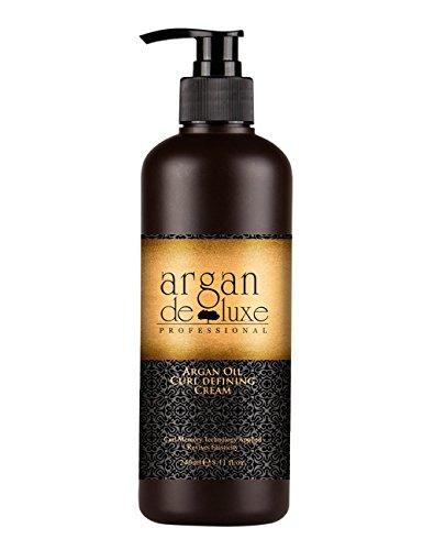 Argan DeLuxe Arganöl Lockenpflege und Styling, Curl Defining Cream, 240ml, Premium Haar Pflege