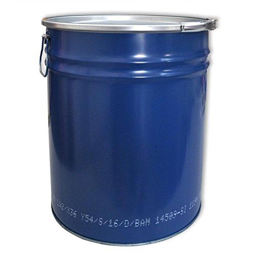 Stahlfass Hobbock 30 bis 120 Liter Spundfass Deckelfass Metallfass, verschiedene Größen (30 Liter)