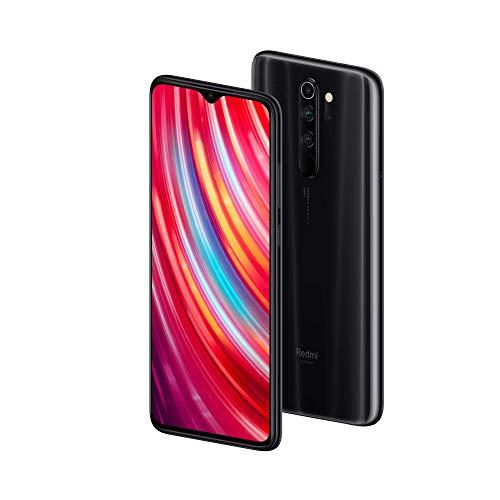 Xiaomi Redmi Note 8 Pro Smartphone (16,59cm (6,53 Zoll) FHD+ Display, 64GB interner Speicher + 6GB RAM, 64MP Vierfach-KI-Rückkamera, 20MP Selfie-Frontkamera, Dual-SIM, Android 9) Mineral Grey (Grau)