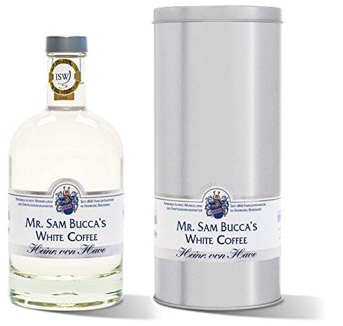 von Have Mr. Sam Bucca's White Coffee Liqueur in Geschenk-Dose (3 x 0.5 l)