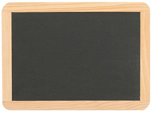 Schiefertafel ca. 22,1 x 29,9 cm mit Naturholzrahmen