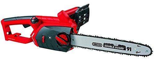 Einhell Elektro Kettensäge GE-EC 2240 (2200 Watt, 375 mm Schnittlänge, Oregon Kette und Qualitätsschwert, Softstart, Rückschlagschutz und Kettenfangbolzen)
