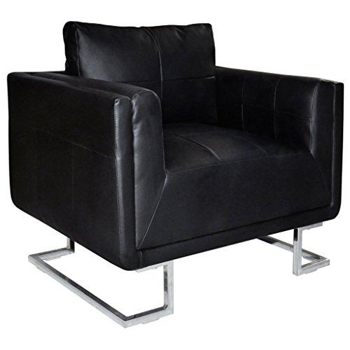 vidaXL Luxus Armsessel Armsofa Sessel Relaxsessel Ledersofa Clubsessel Lounge