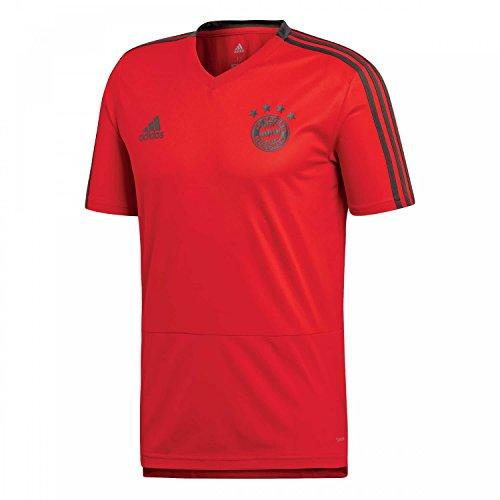 FC Bayern München adidas Trainingstrikot Herren / Fußball Shirt rot / Größe L