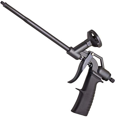 KLRStec PU-Schaumpistole Teflon beschichtet (PTFE) - Profi Montagepistole I Bauschaumpistole