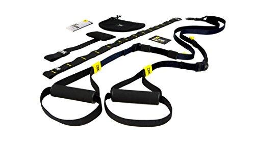 TRX Training – GO Suspension Trainer-Kit, Der leichteste und kleinste Suspension Trainer – Perfekt geeignet für unterwegs und für das Training im Innen- und Außenbereich (Schwarz)