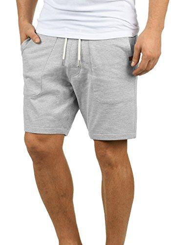Blend Mulker Herren Sweatshorts Kurze Hose Jogginghose Mit Kordel Regular Fit, Größe:M, Farbe:Zink Mix (70815)