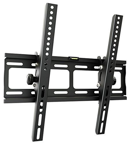 RICOO Wandhalterung TV Neigbar Fernseher Halterung R09 Universal Wandhalter LCD Fernsehhalterung Halter Flachbildfernseher 76-165 cm/ 30'-65' Zoll / VESA 200x200 400x400 / Schwarz