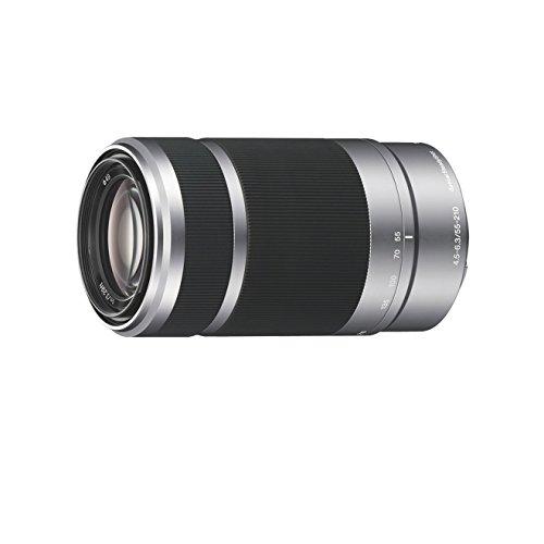 Sony SEL-55210 Tele-Zoom-Objektiv (55-210 mm, F4.5–6.3, OSS, APS-C, geeignet für A6000, A5100, A5000 und Nex Serien, E-Mount) silber