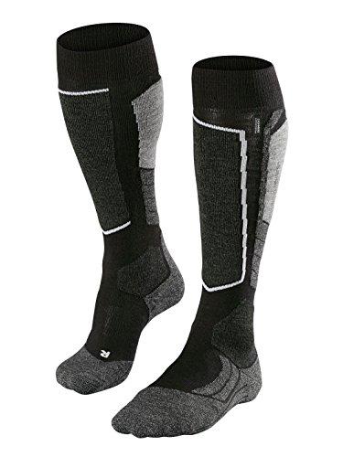 FALKE Herren Skistrumpf SK 2 Men, Black-Grey, 42-43, 16522
