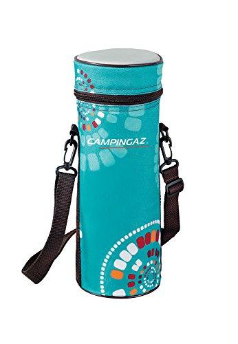 Campingaz Flaschenkühler Ethnic MiniMaxi 1.5 L, Isoliertasche mit Tragegurt, kühlt bis zu 4 Std, praktisch für Unterwegs und Picknicks, ideal zum Kühlen von Bier, Wein und Sektflaschen