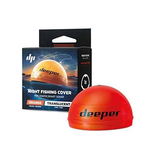 Deeper Erwachsene Uni Night Cover Fischfinder Fishfinder, Orange, One Size
