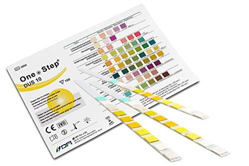 Gesundheitstest für 10 Indikatoren 15 Stück mit Referenzfarbkarte