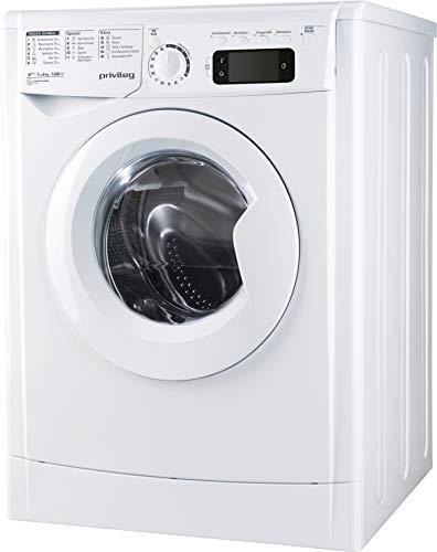 Privileg PWF M 643 Waschmaschine Frontlader/A+++ / 1400 UpM / 6 kg/Mengenautomatik/Startzeitvorwahl/Kurzprogramme/Maschinenreinigung/Inverter Motor/Wasserschutz/Daunen/Wolle/Kindersicherung
