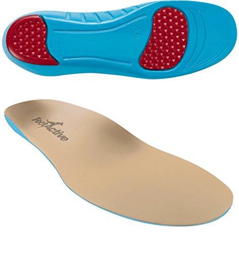 FootActive Sensi - Einlegesohlen für empfindliche Füße - Eine Wohltat für Fersen und Fußballen! GR. 39 - 41 (S)