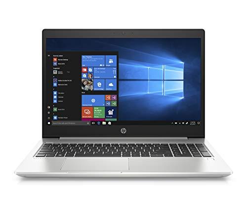 HP ProBook 450 G6 39,6 cm (15,6 Zoll / FHD IPS) Business Laptop (Intel Core i7-8565U, 16GB DDR4 RAM, 512GB SSD, Intel HD Grafik 620, Fingerabdrucksensor, Win 10 Home) silber