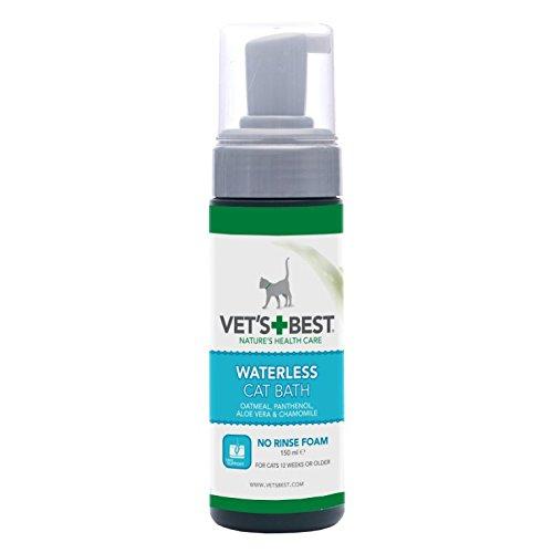 VET`S BEST wasserloses Shampoo für Katzen 150 ml