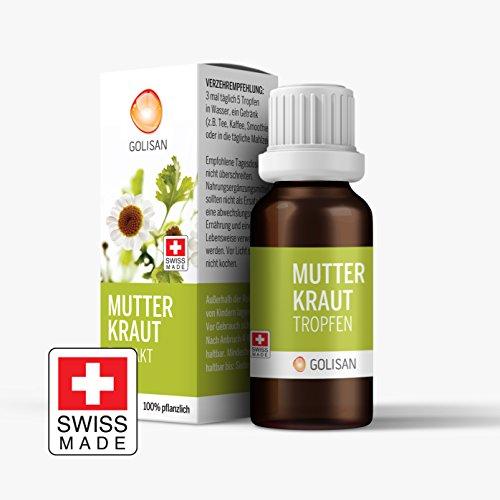 GOLISAN Premium Mutterkraut Extrakt hochdosiert Tropfen 15ml