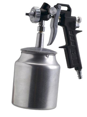 FERM ATM1040 Farbspritzpistole - Unterbecher - 750cc - 4.5 bis 6 bar