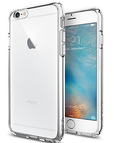 iPhone 6S Hülle, Spigen [Ultra Hybrid] Luftpolster-Technologie [Crystal Clear] Einteilige Transparent Handyhülle Durchsichtige PC Rückschale mit Silikon TPU Slim Bumper Schutzhülle für Apple iPhone 6/6S Case Cover - Crystal Clear (SGP11598)