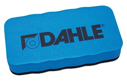 Dahle 95097-02505 Whiteboard Schwamm (Magnetischer Wischer für Trockenreinigung auf vielen Oberflächen) blau