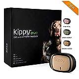 Kippy EVO | Das Neue GPS + Activity | Für Hunde und Katzen 38 gr | Waterproof | Batterie 10 Tage | Brown Wood