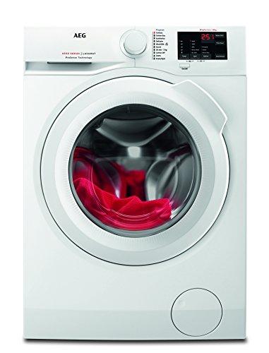 AEG L6FB54680 Waschmaschine / 8,0 kg / Leise / Mengenautomatik / Nachlegefunktion / Kindersicherung / Schontrommel / Wasserstopp / 1600 U/min
