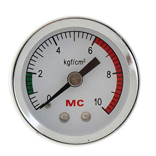 non-brand Homyl Ersatz CO2 Manometer Druckmesser Druckmessgerät für Aquarium Fisch Tank