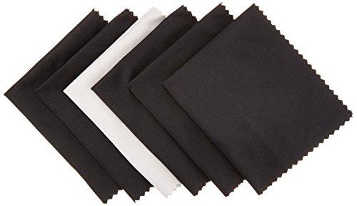 AmazonBasics - Mikrofaser-Reinigungstuch für elektronische Geräte, 6er-Pack