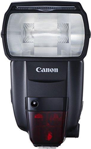 Canon 600EX II-RT Speedlite Blitzgerät (EOS Blitzgerät mit integriertem Funk-Auslöser, Leitzahl 60, Geeignet für entfesseltes Blitzen) schwarz