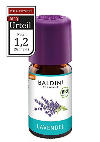 Baldini - Lavendelöl BIO,100% naturreines ätherisches BIO Lavendel Öl fein aus Frankreich 5 ml