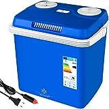 Kesser 32 Liter Kühlbox | KÜHLT und WÄRMT | Thermo-Elektrische Kühlbox 12 Volt und 230 Volt | Mini-Kühlschrank | für Auto und Camping | EEK A++ | Blau |