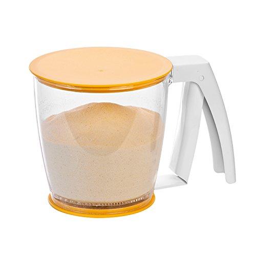 Tescoma mechanisches Mehlsieb aus Kunststoff BPA Frei