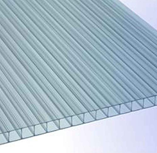 RK-Stegplatten, Polycarbonat, Stegplatten, Hohlkammerplatten, Gewächshausplatten, klar 1500 x 700 x 4,5 mm